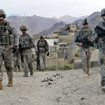 U.S. soldiers on patrol in Afghanistan. Hearing loss and tinnitus are the top disabilities plaguing American veterans. U.S. Army photo.